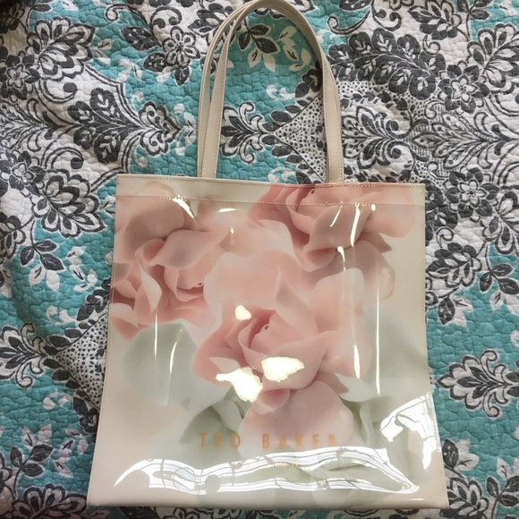 Ted Baker London Handbags - Ted Baker London vinyl tote bag